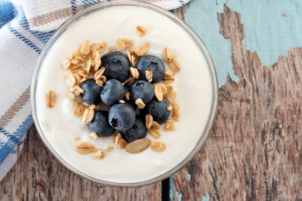 Foto de Iogurte de Baunilha com Mirtilos e Granola por WW