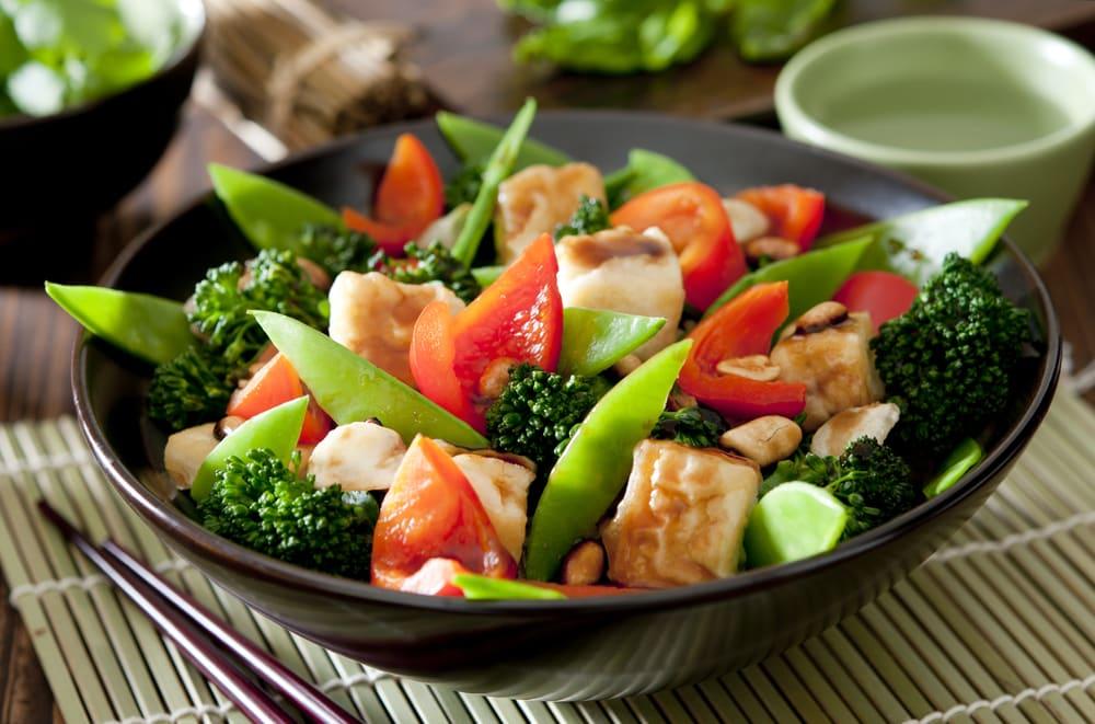 Foto de Refogado de Tofu com Legumes por WW