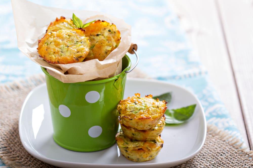Foto de Mini Muffins de Abobrinha por WW