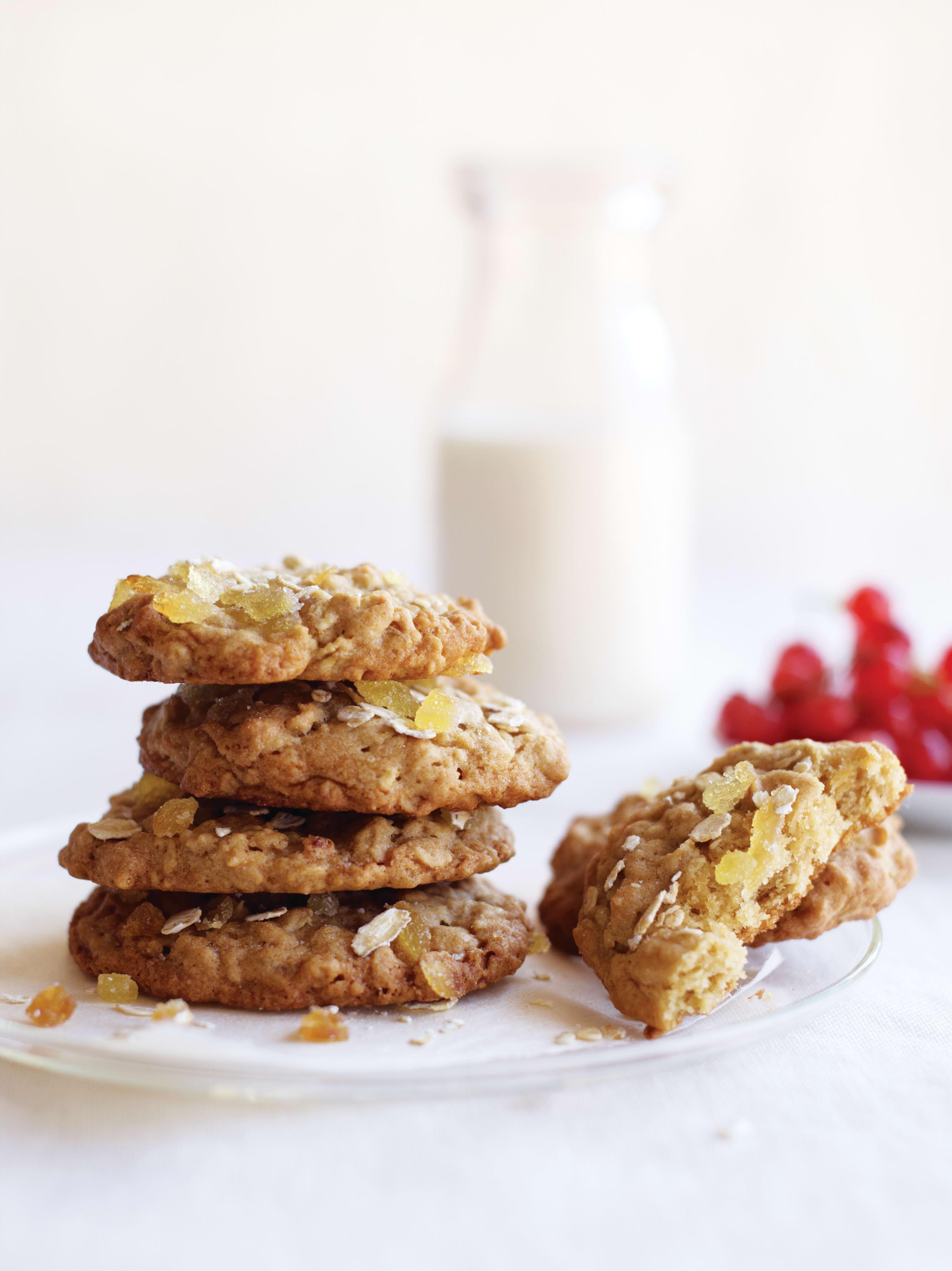 Foto de Cookies de Aveia com Gengibre por WW
