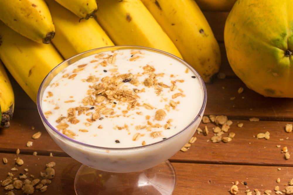 Foto de Creme de banana com mamão e iogurte por WW