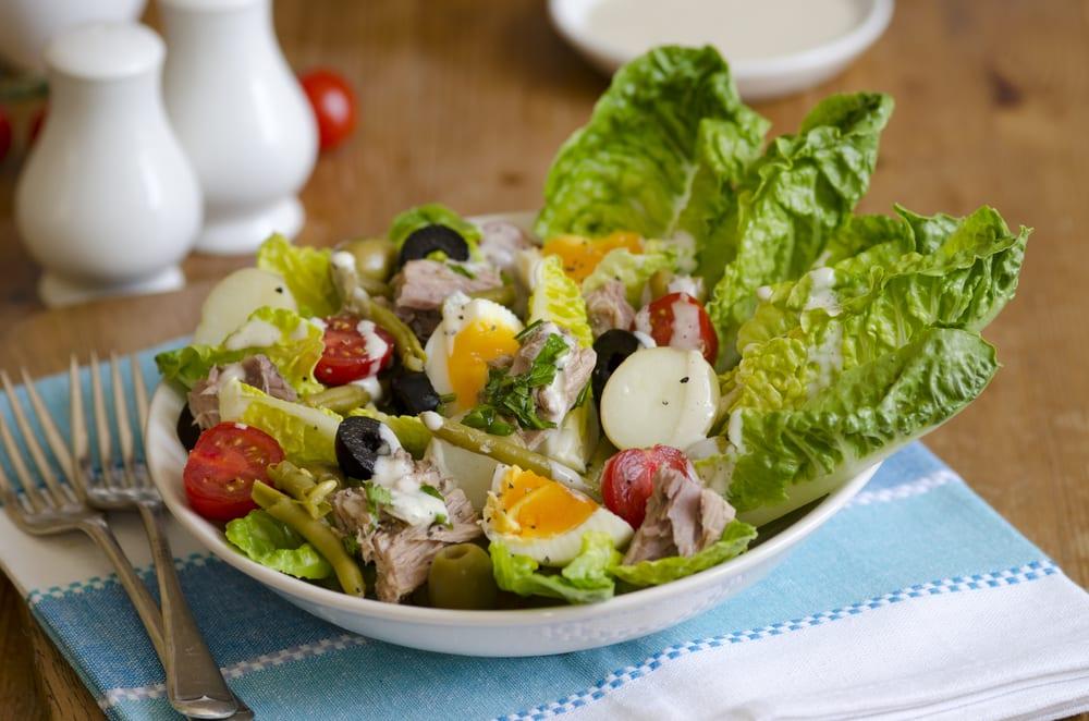 Foto de Salada Niçoise por WW