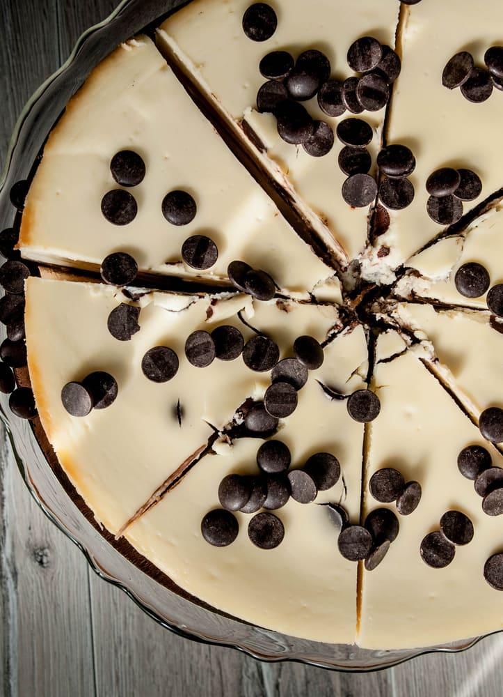 Foto de Cheesecake com Gotas de Chocolate por WW