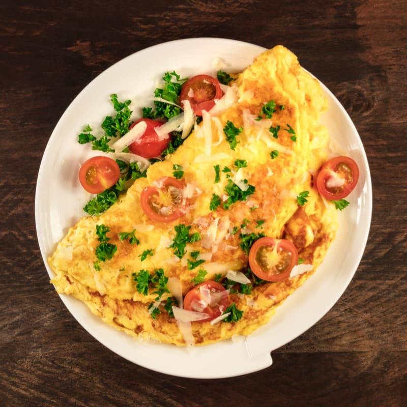 Foto de Omelete com tomate e ervas por WW