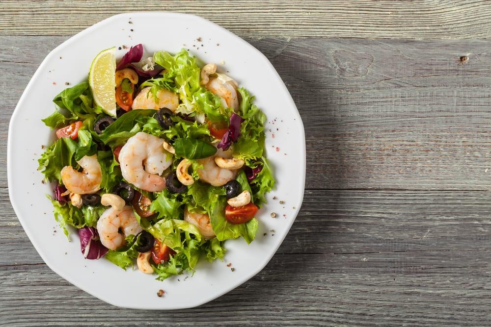 Foto de Salada de Camarão com Castanhas por WW