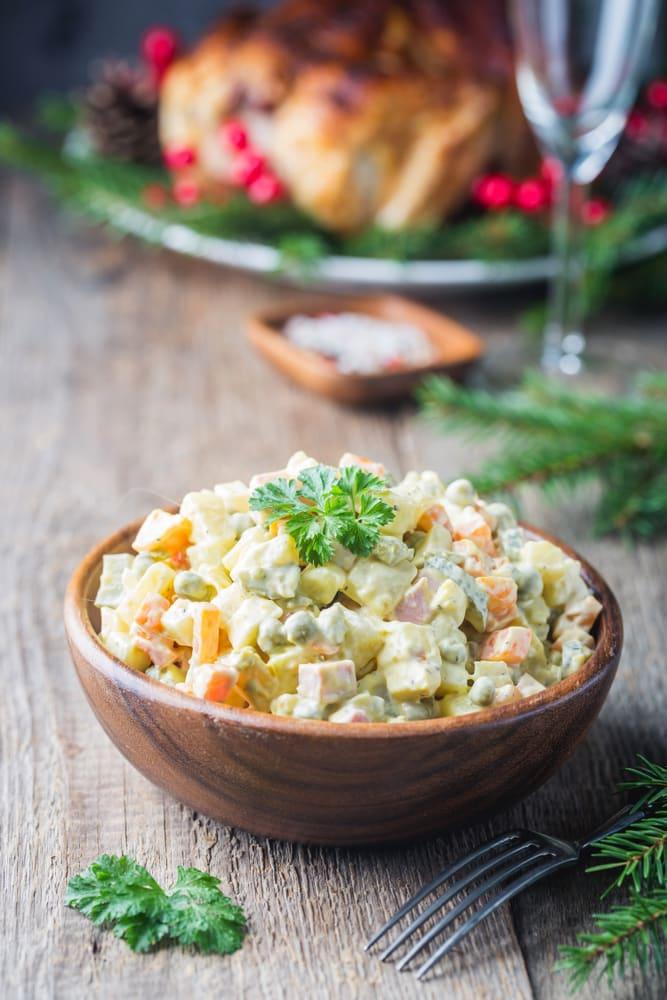 Foto de Salada de legumes com iogurte por WW