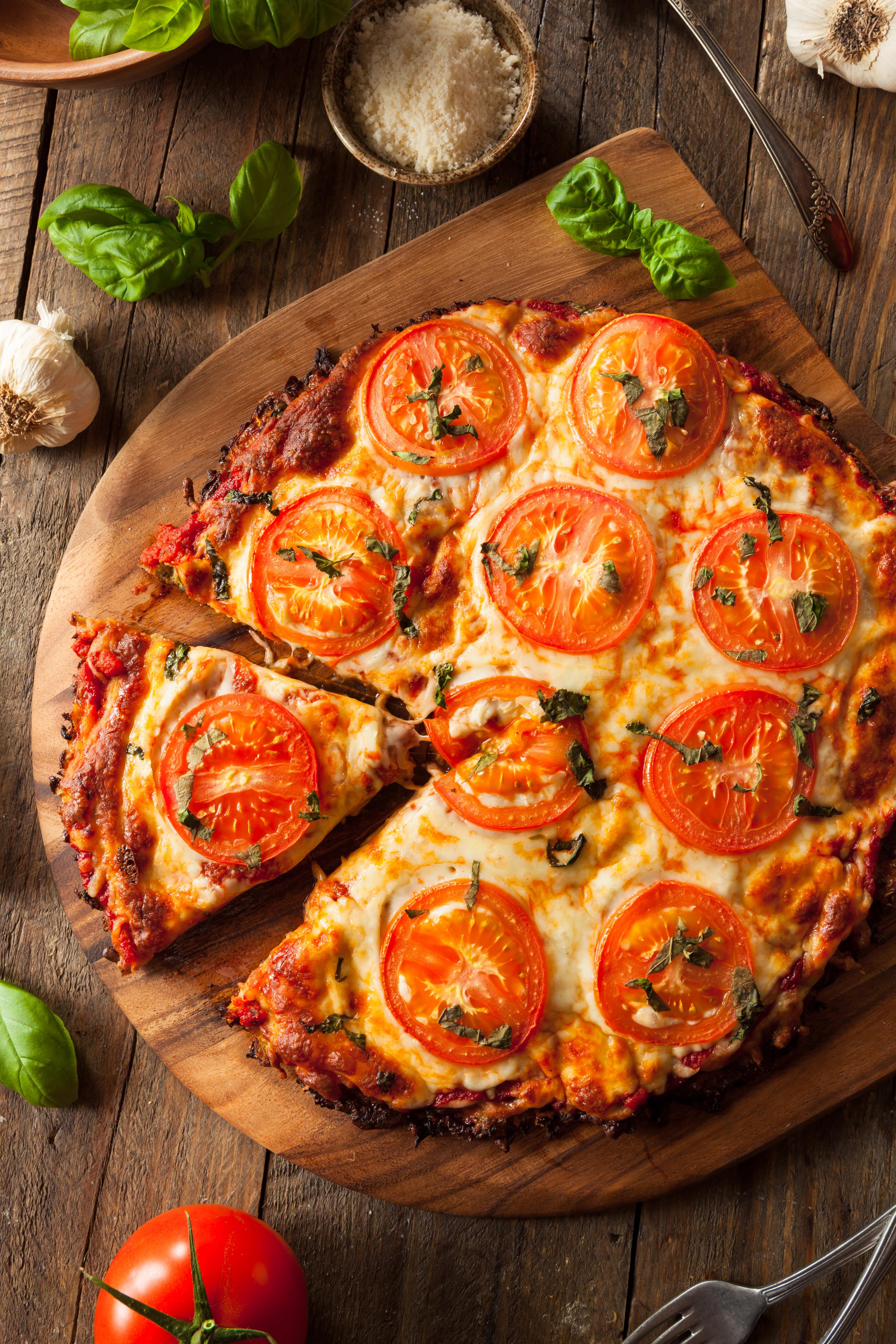 Foto de Pizza de couve-flor por WW