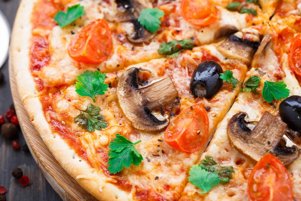 Foto de Pizza Vegetariana por WW
