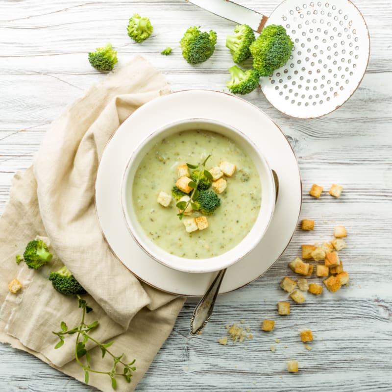 Foto de Sopa de brócolis com gorgonzola por WW