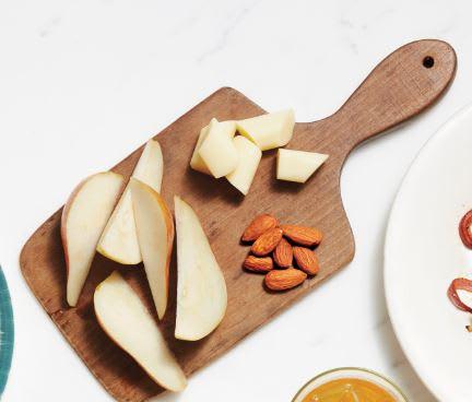 Foto de Tábua de frutas e queijo por WW