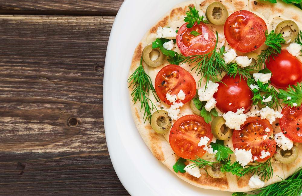 Foto de Pizza no pão árabe por WW