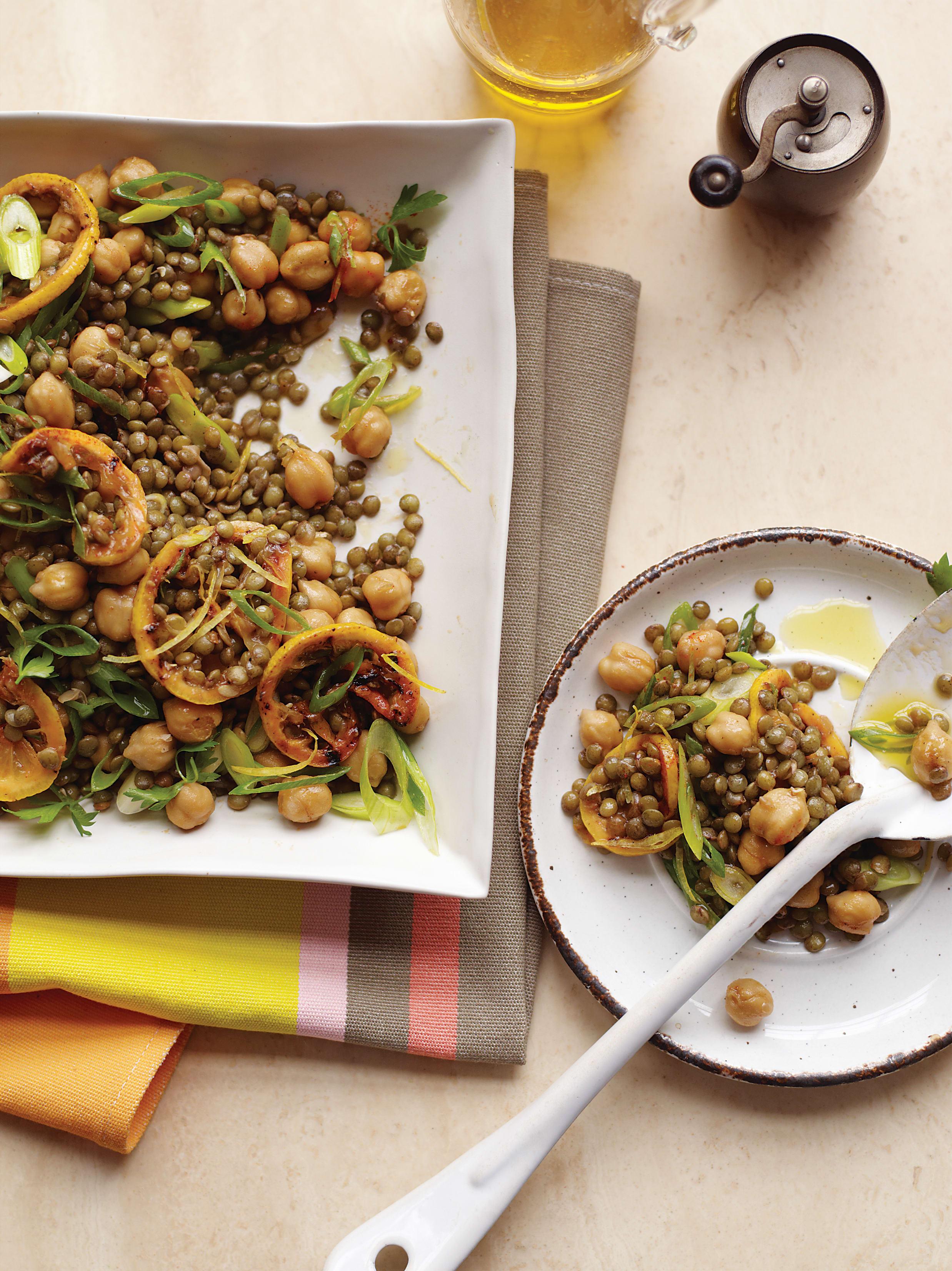 Foto de Salada de Lentilha e Grão-de-Bico com Limão Assado por WW