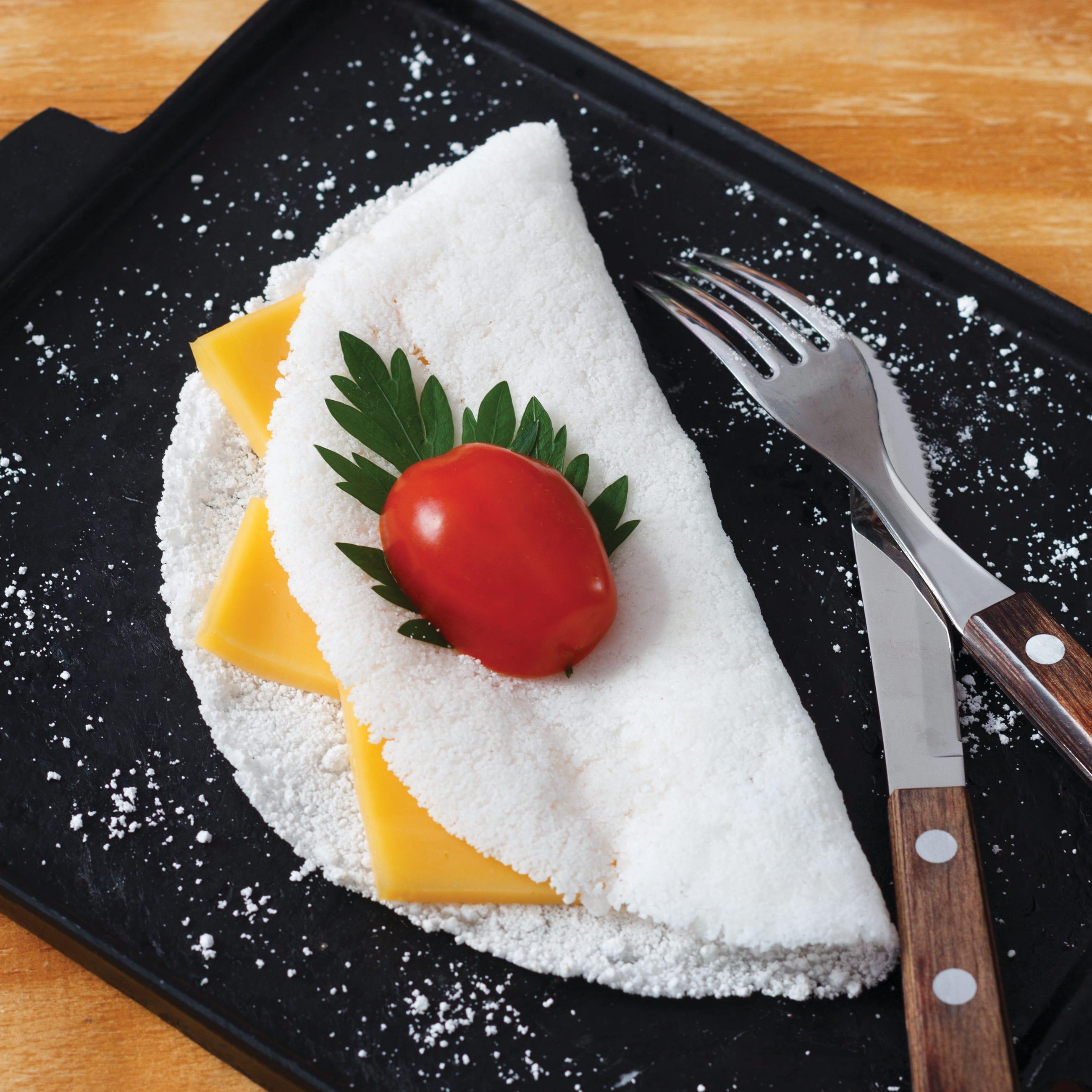 Foto de Tapioca com tomate e queijo por WW