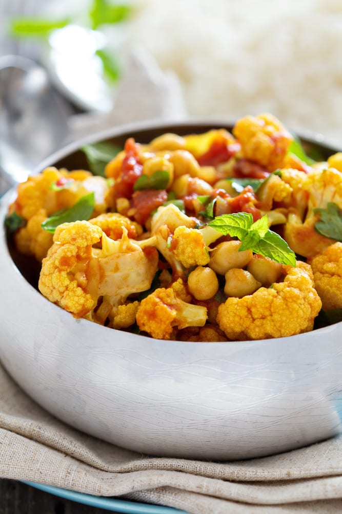 Foto de Curry vegano por WW