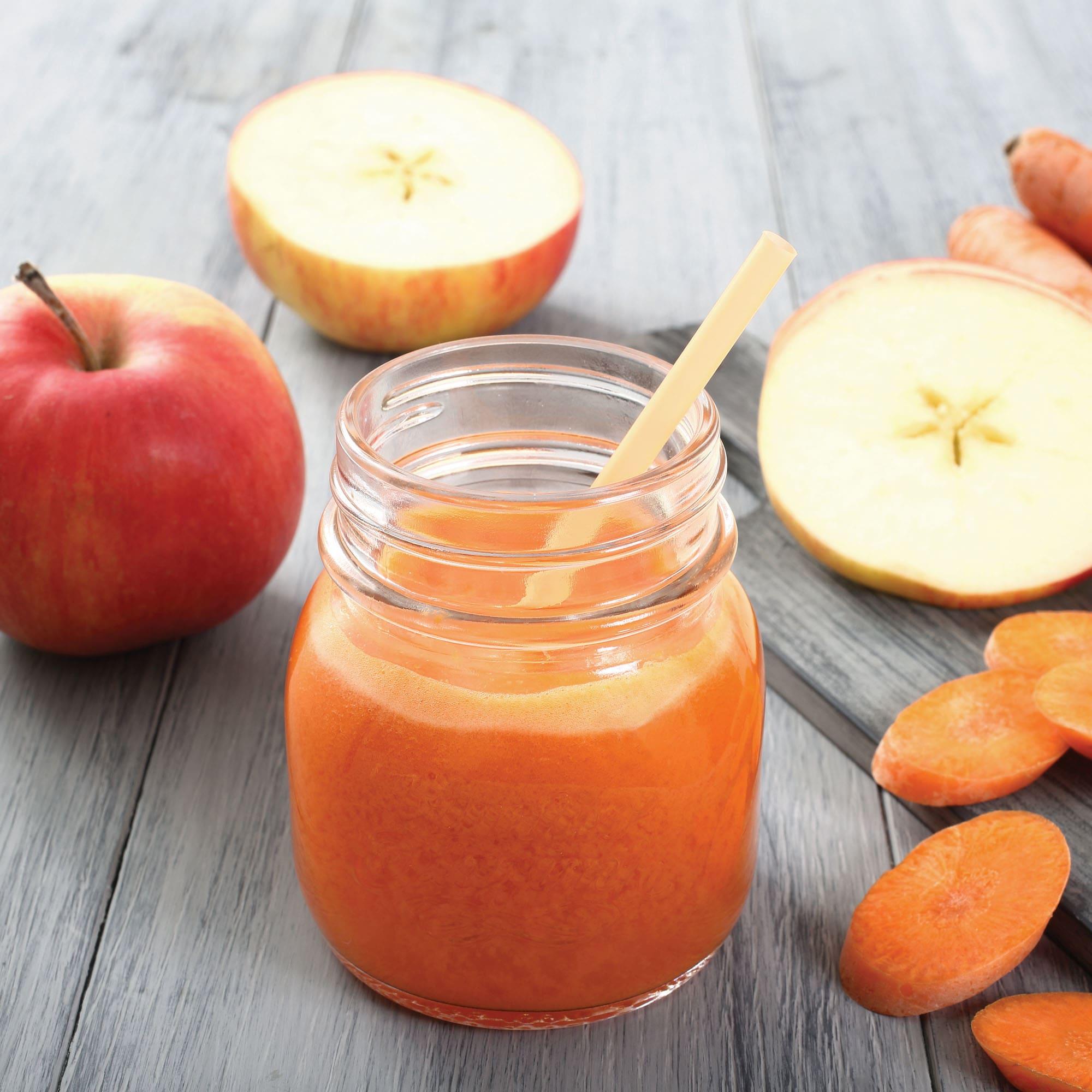 Foto de Suco de cenoura e maçã por WW