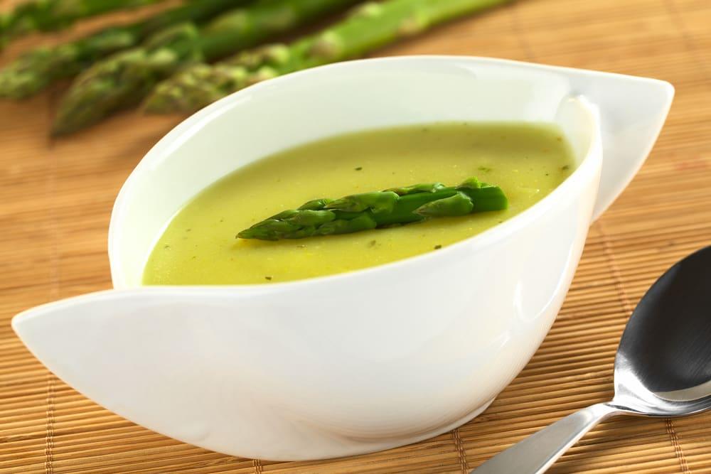 Foto de Sopa de Aspargos com Tofu por WW
