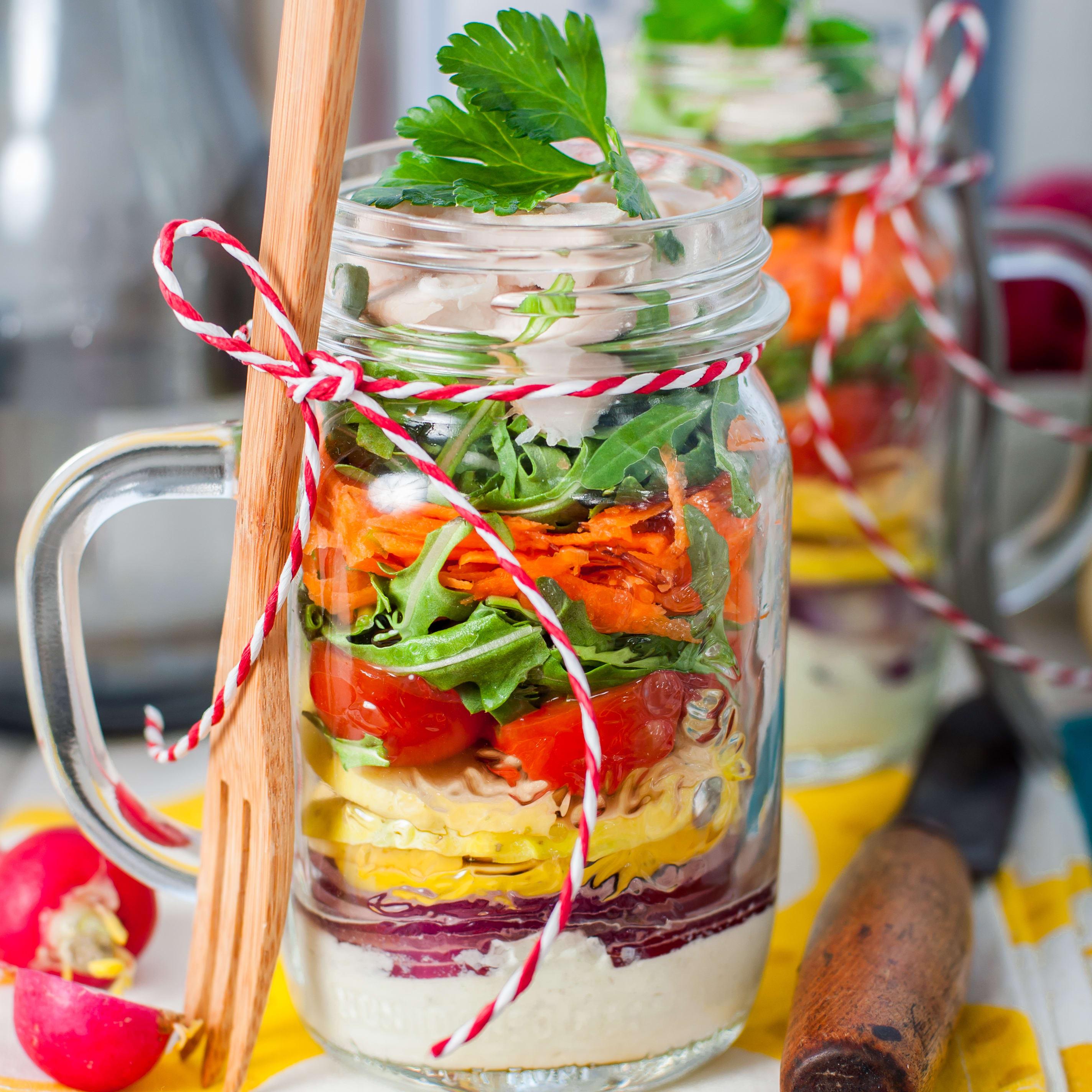 Foto de Salada em Camadas por WW