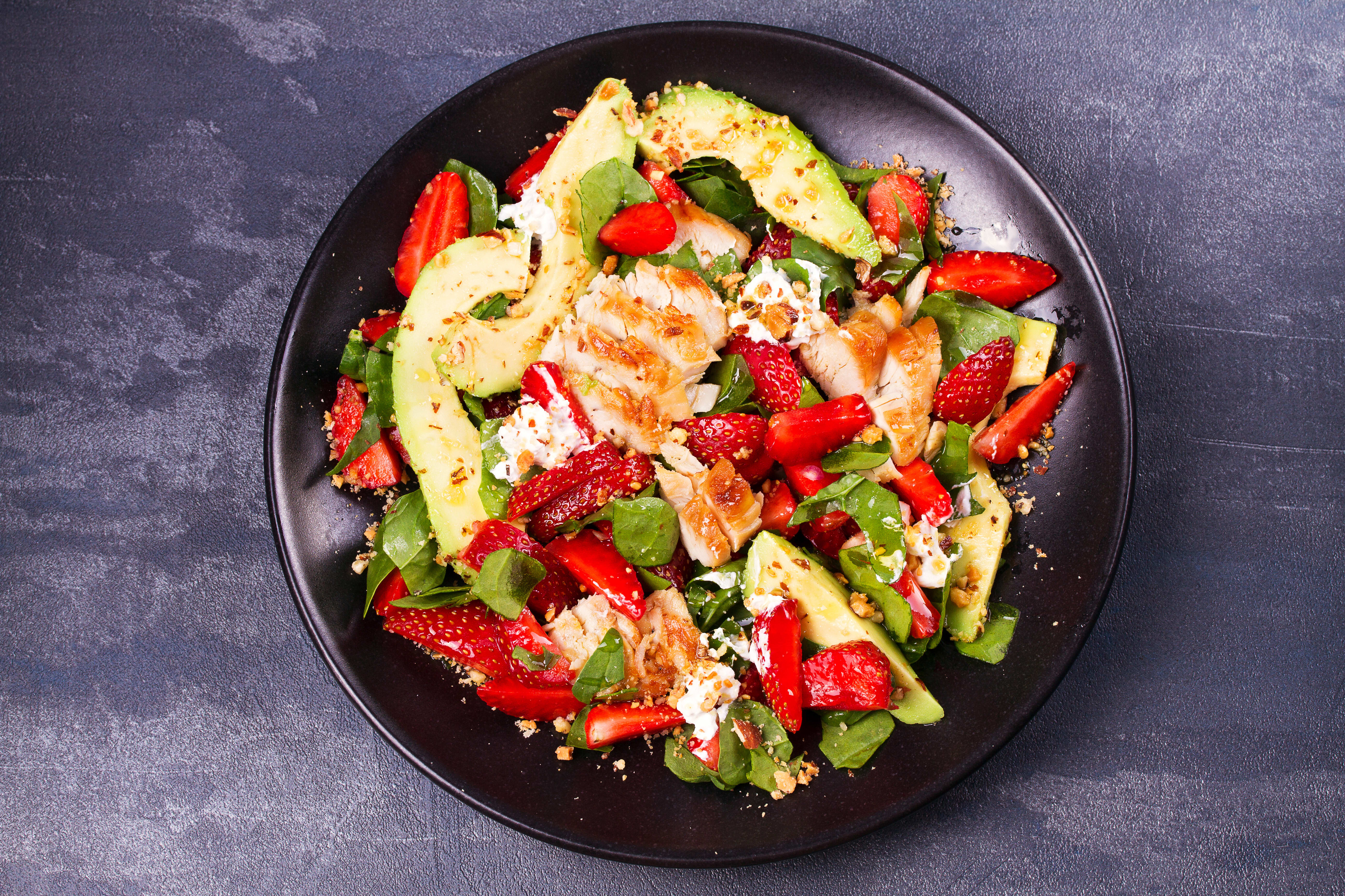 Foto de Salada Tropical de Frango por WW