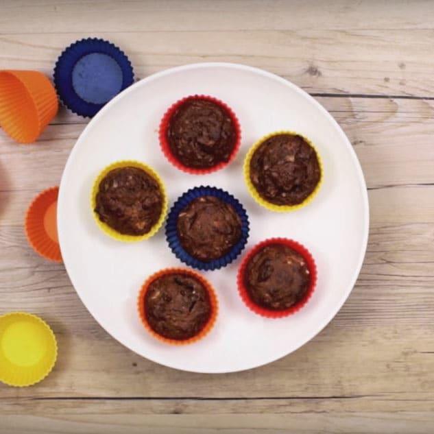 Foto de Cupcakes de chocolate com banana por WW