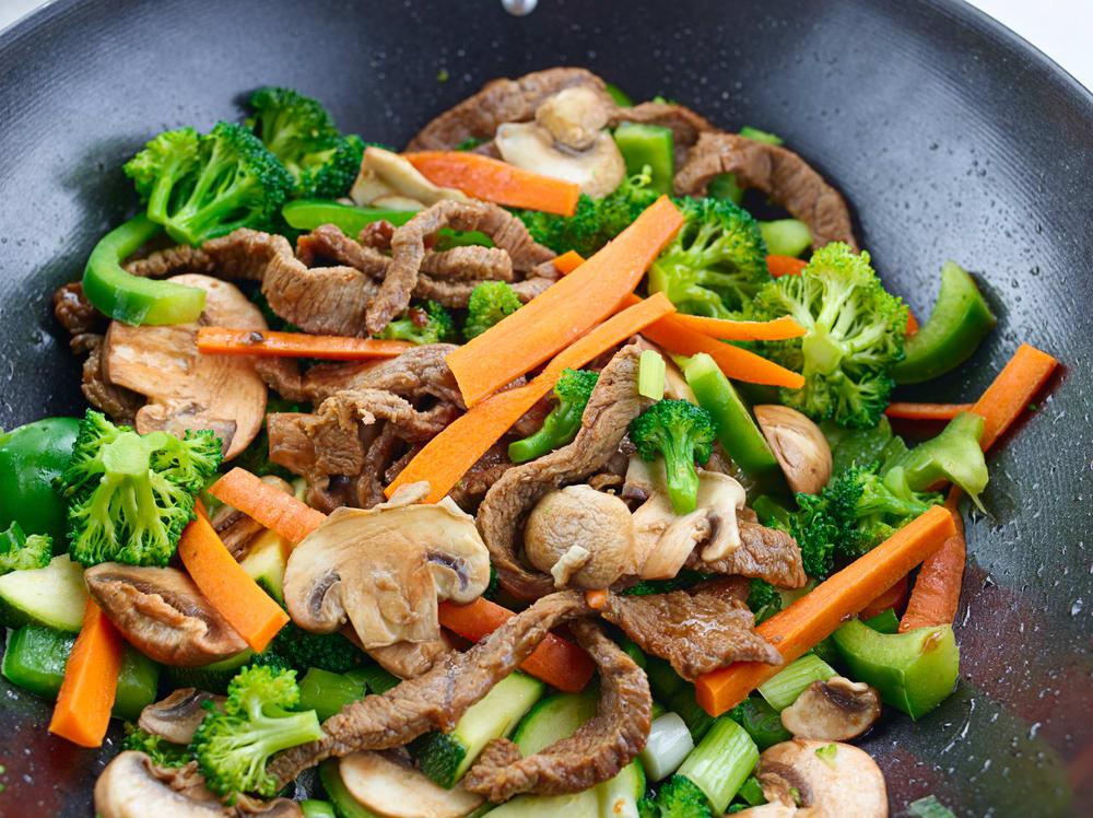 Foto de Refogado de Carne com Legumes por WW