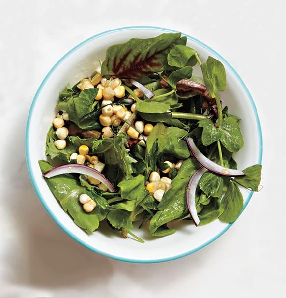Foto de Salada de folhas com molho balsâmico por WW