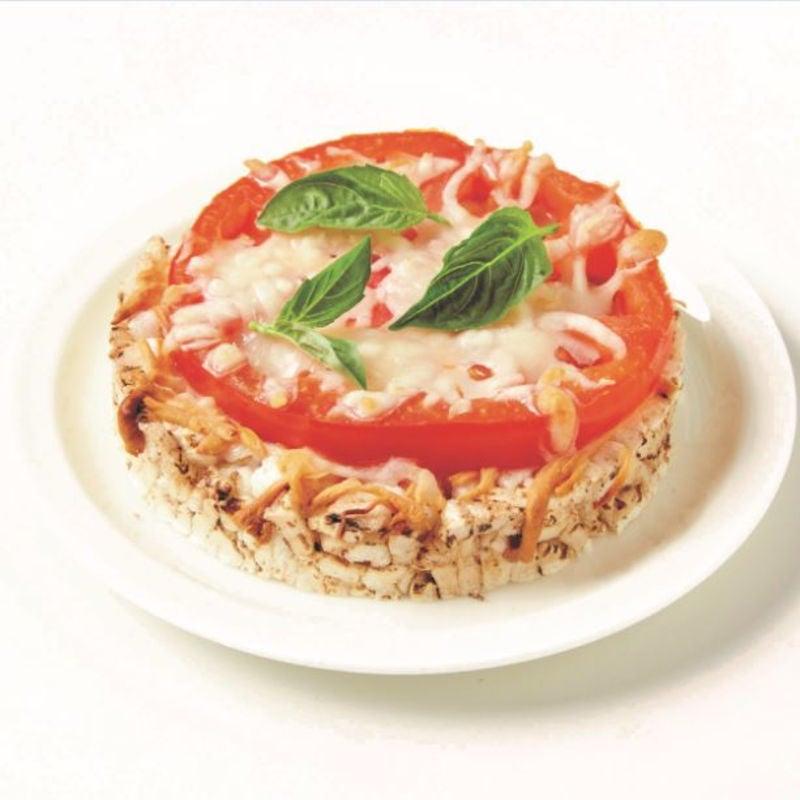 Foto de Pizza Margherita na Bolacha de Arroz por WW