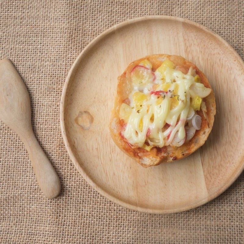 Foto de Mini Pizza de Pão de Hambúrguer por WW