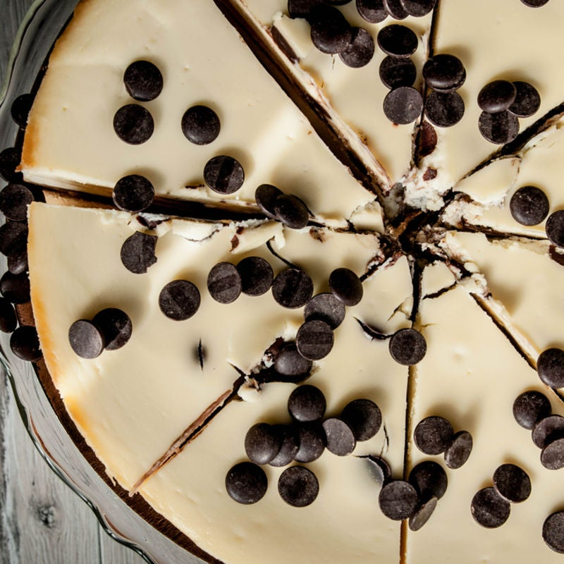 Foto de Cheesecake com Gotas de Chocolate por WW