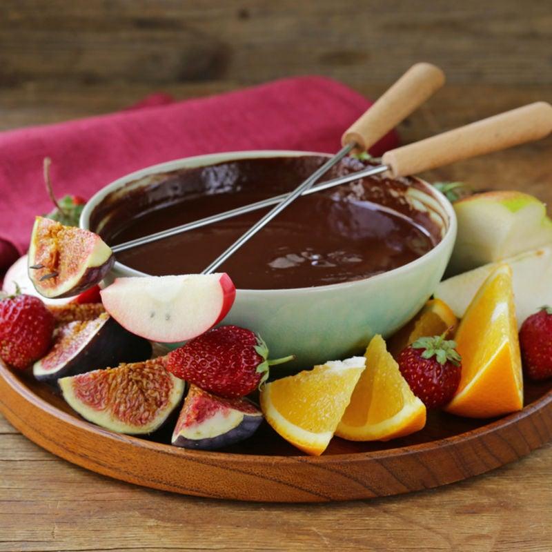 Foto de Fondue de Chocolate Leve por WW