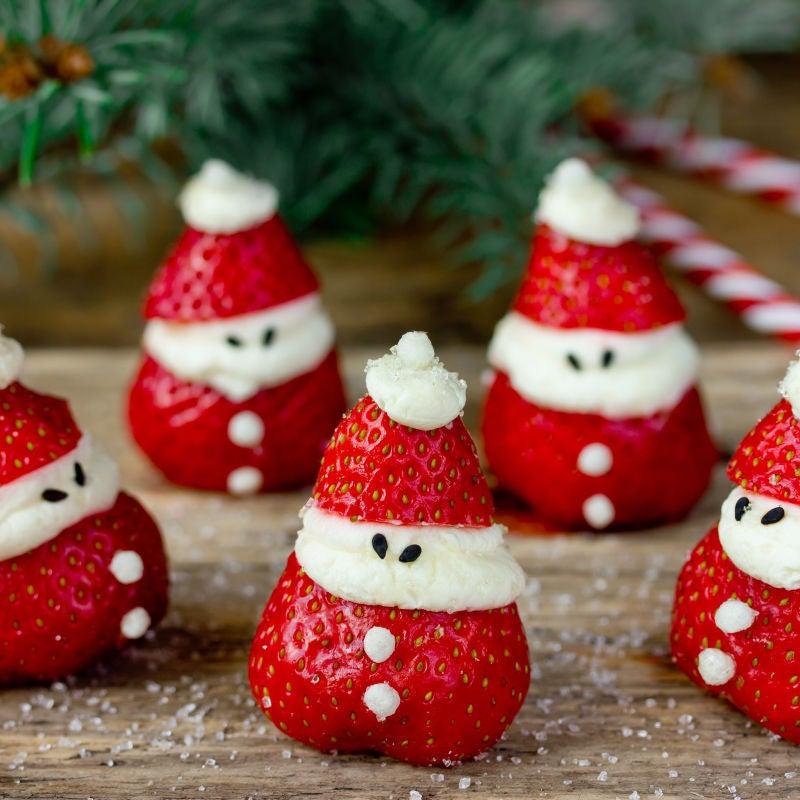 Foto de Papai Noel de Morango por WW