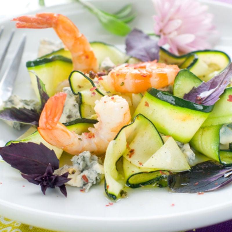 Foto de Salada de Camarão e Abobrinha por WW