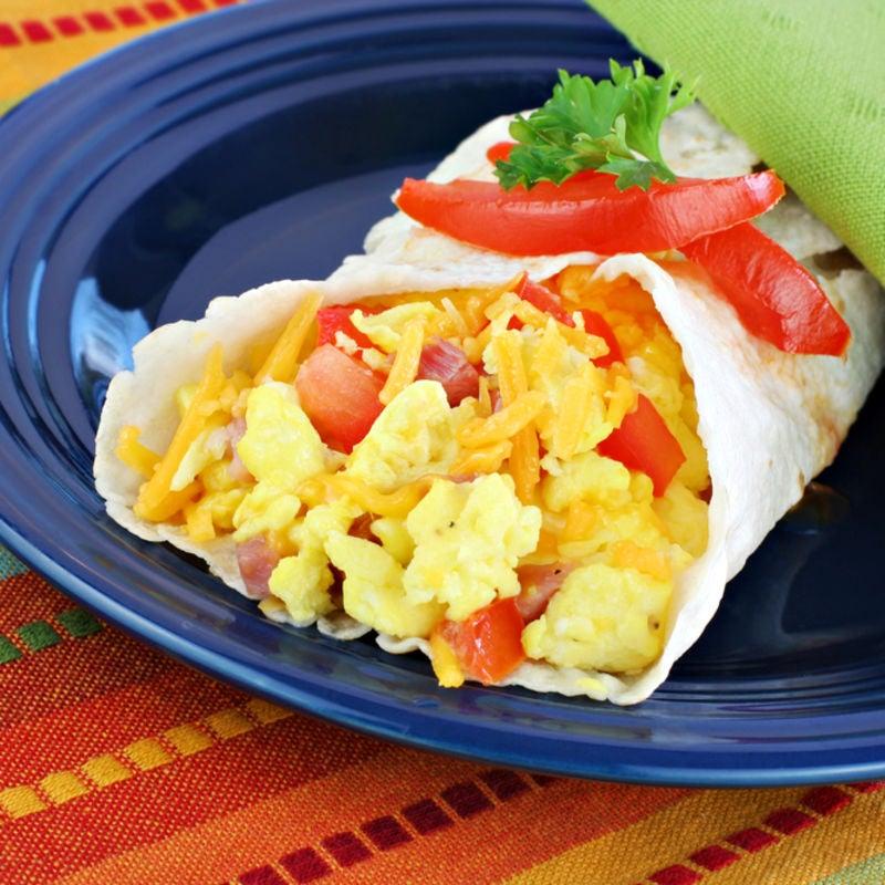Foto de Wrap com Ovos Mexidos por WW