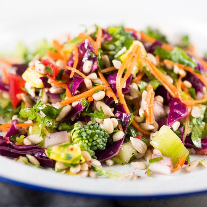 Foto de Salada colorida com cevadinha por WW
