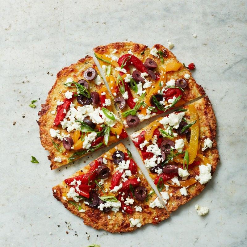 Foto de Pizza de couve-flor com ricota e pimentões por WW