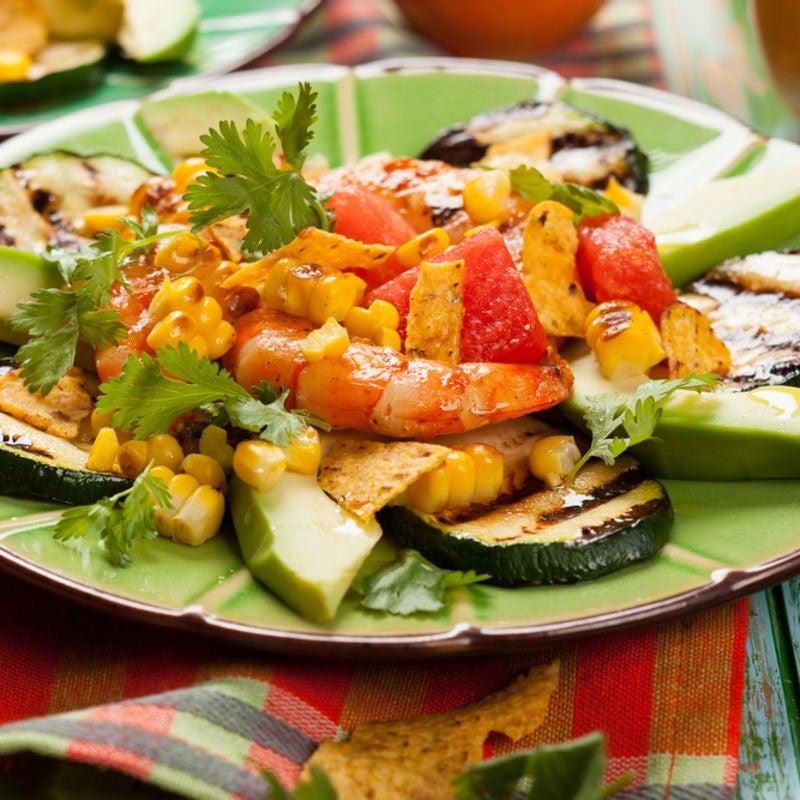 Foto de Salada Mexicana com Camarões por WW