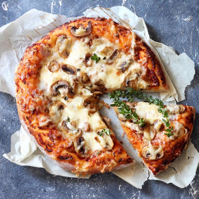 Foto de Pizza de cogumelos por WW