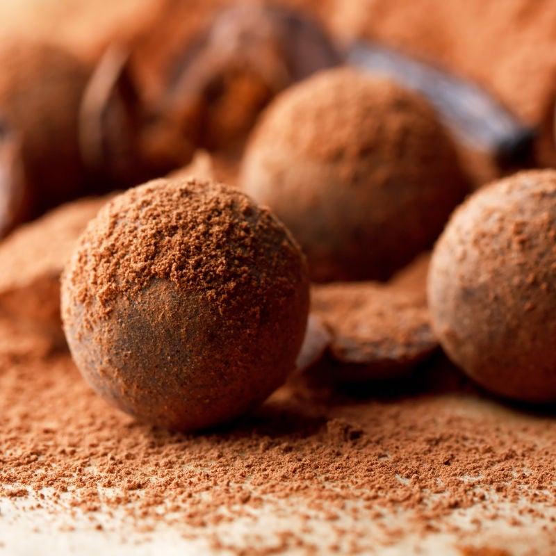 Foto de Trufas de Chocolate com Café por WW