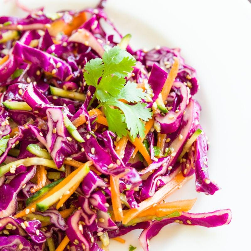 Foto de Salada Colorida com Gergelim por WW